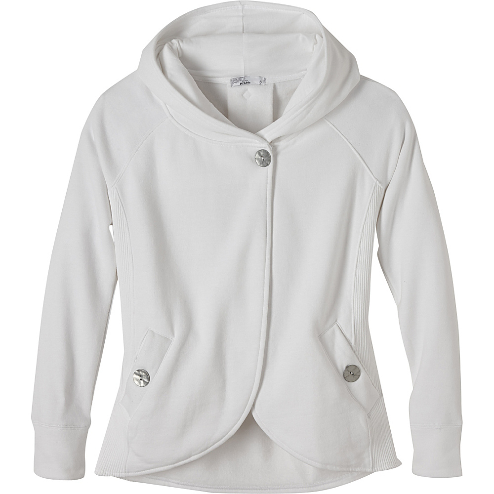 PrAna Darby Jacket XS - White - PrAna Womens Apparel - Apparel & Footwear, Women's Apparel