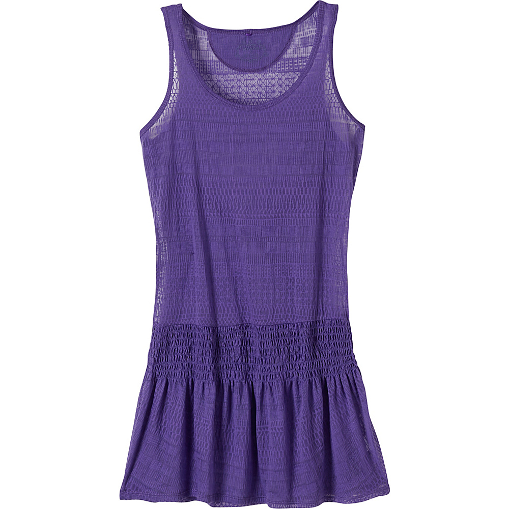 PrAna Zadie Dress L - Ultra Violet - PrAna Womens Apparel - Apparel & Footwear, Women's Apparel