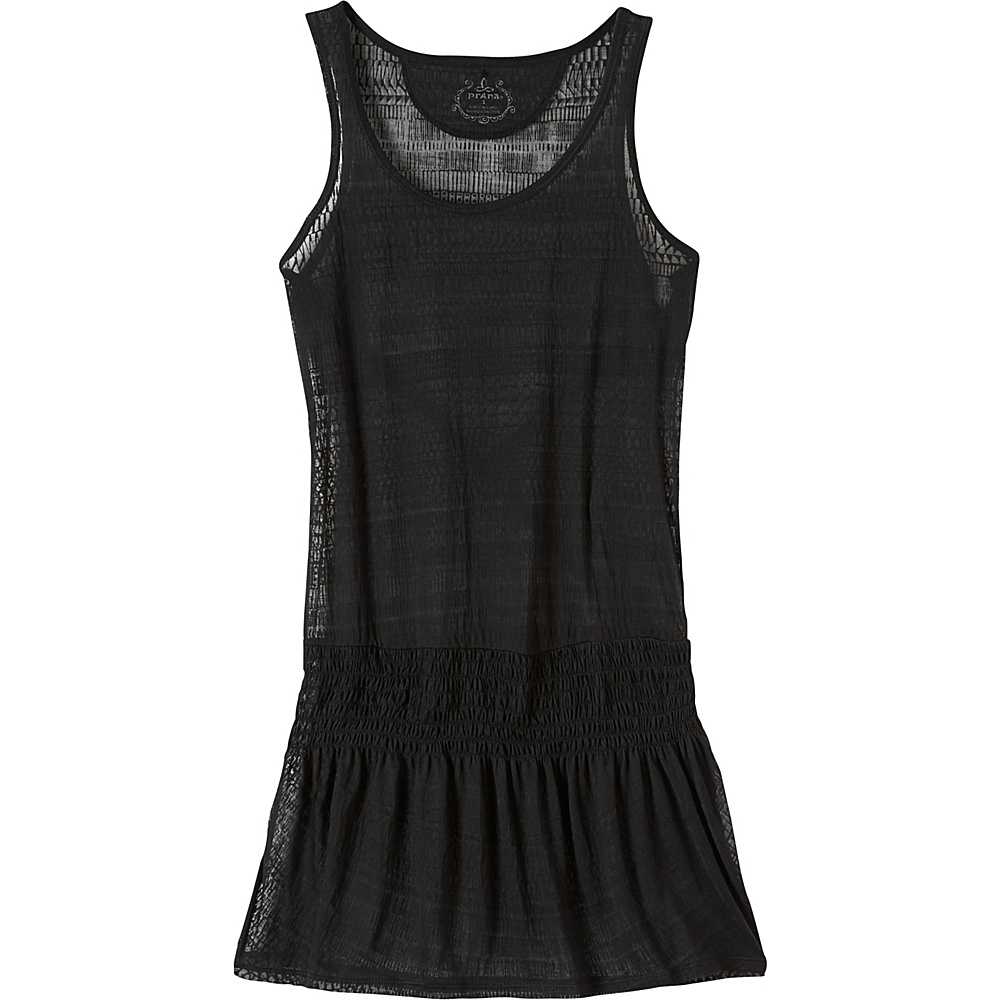 PrAna Zadie Dress M - Black - PrAna Womens Apparel - Apparel & Footwear, Women's Apparel