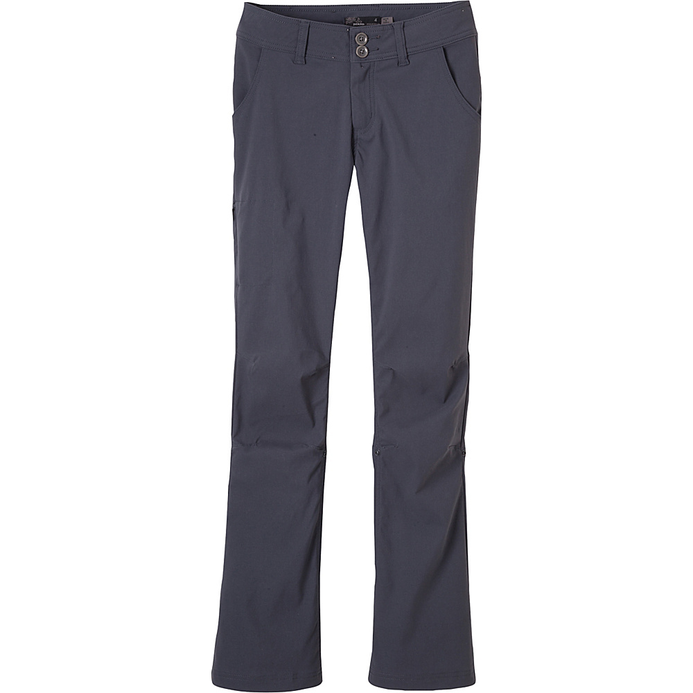 PrAna Halle Pants - Regular Inseam 0 - Coal - PrAna Womens Apparel - Apparel & Footwear, Women's Apparel
