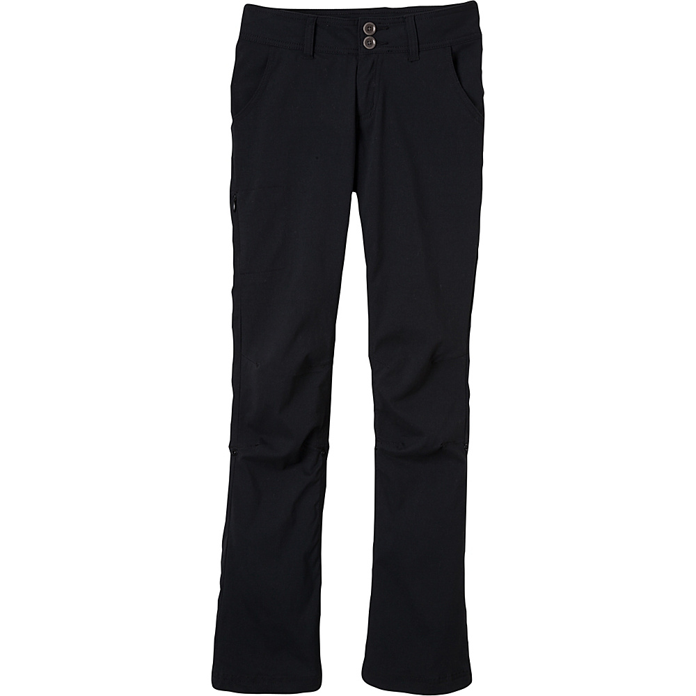 PrAna Halle Pants - Regular Inseam 0 - Black - PrAna Womens Apparel - Apparel & Footwear, Women's Apparel