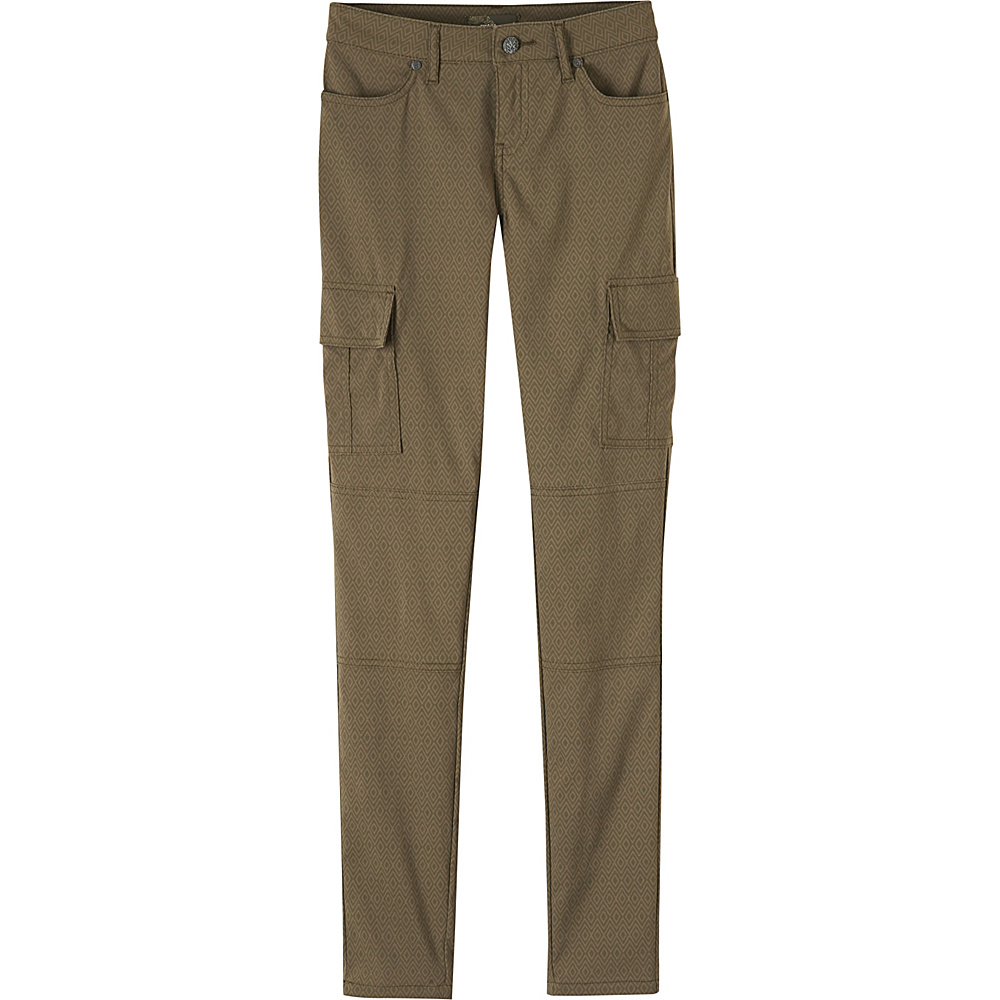 PrAna Meme Pants 8 - Cargo Green Quartz - PrAna Womens Apparel - Apparel & Footwear, Women's Apparel