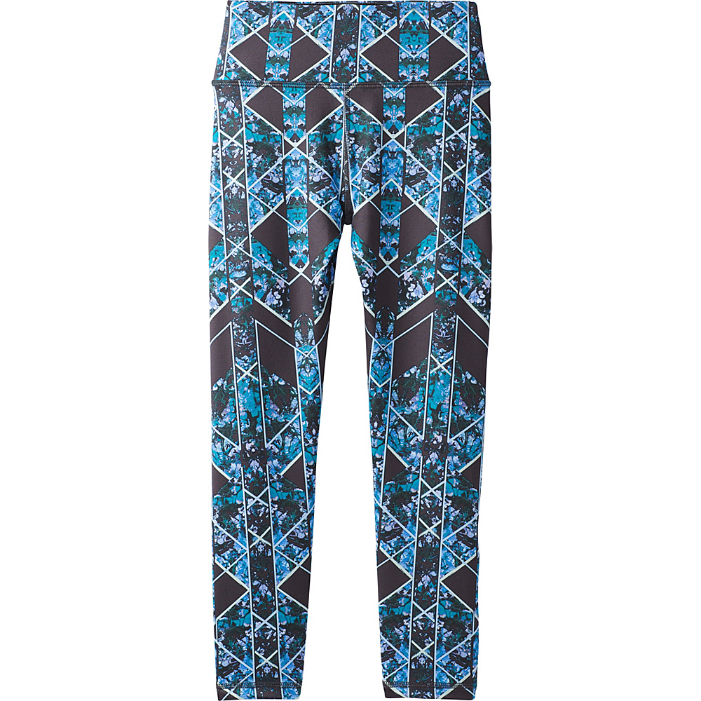 PrAna Roxanne Capri S - Charcoal Wildflower - PrAna Womens Apparel - Apparel & Footwear, Women's Apparel