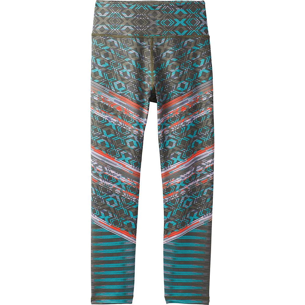 PrAna Roxanne Capri S - Green Tribe - PrAna Womens Apparel - Apparel & Footwear, Women's Apparel