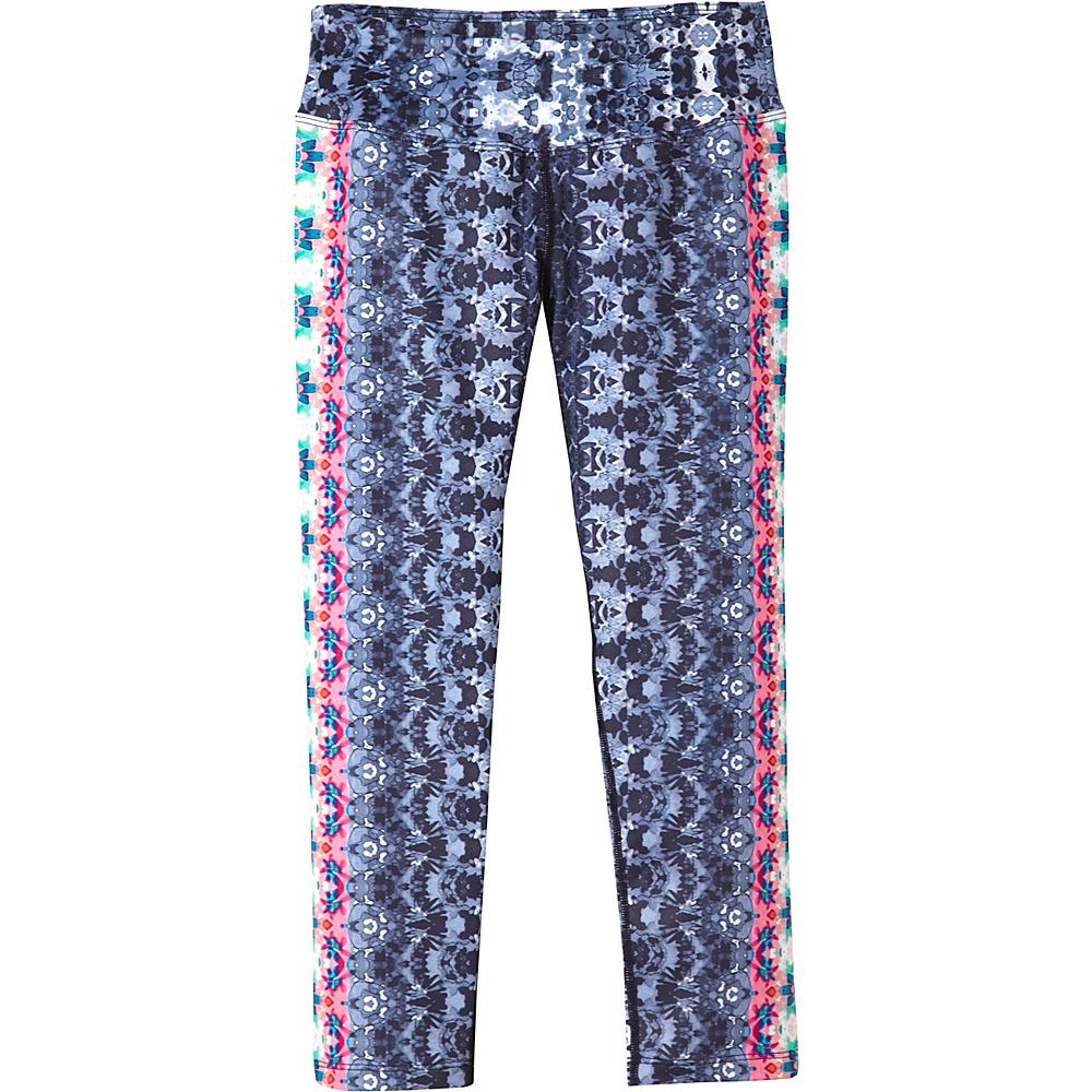 PrAna Roxanne Capri XL - Black Hydrobloom - PrAna Womens Apparel - Apparel & Footwear, Women's Apparel
