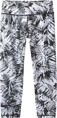 PrAna Roxanne Capri L - Black Paradise - PrAna Women's Apparel 10540055