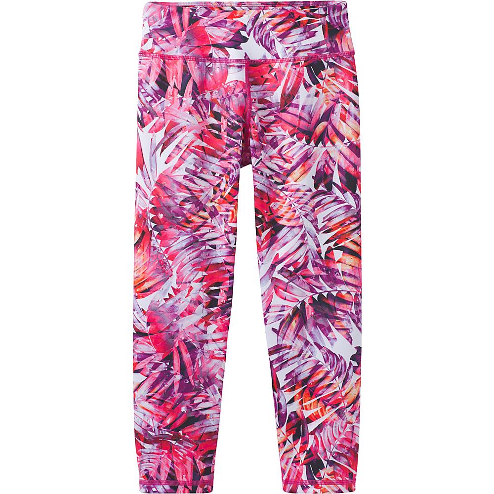 PrAna Roxanne Capri XL - Cosmo Pink Paradise - PrAna Womens Apparel - Apparel & Footwear, Women's Apparel