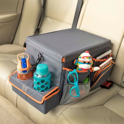 High Road Back Seat Cooler & Play Station - Large Gray - High Road Trunk and Transport Organization