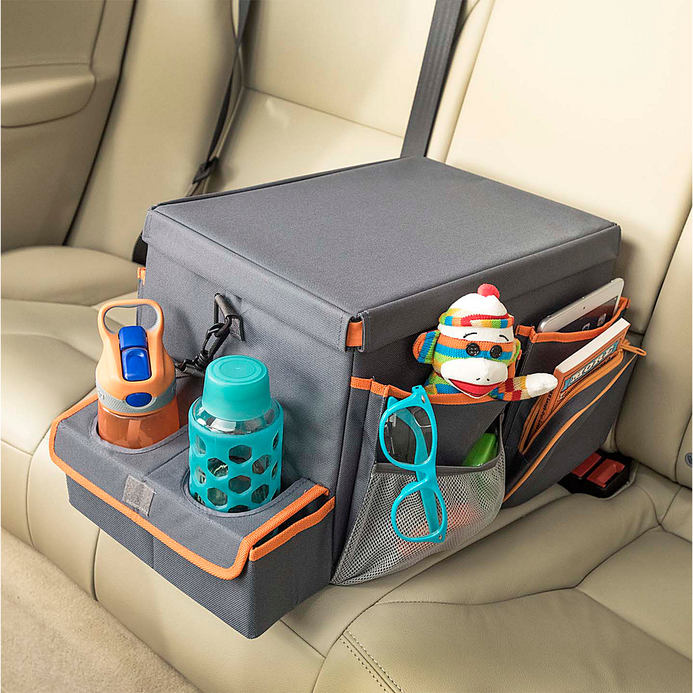 High Road Back Seat Cooler Play Station Large Gray High Road Trunk and Transport Organization