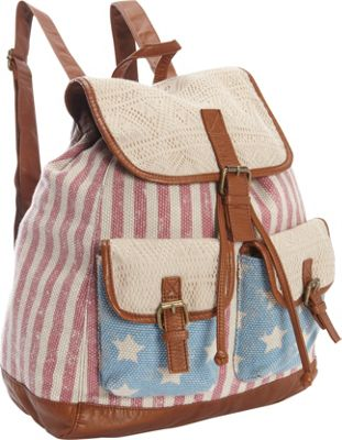 T-shirt & Jeans Americana Backpack Multi - T-shirt & Jeans Everyday Backpacks