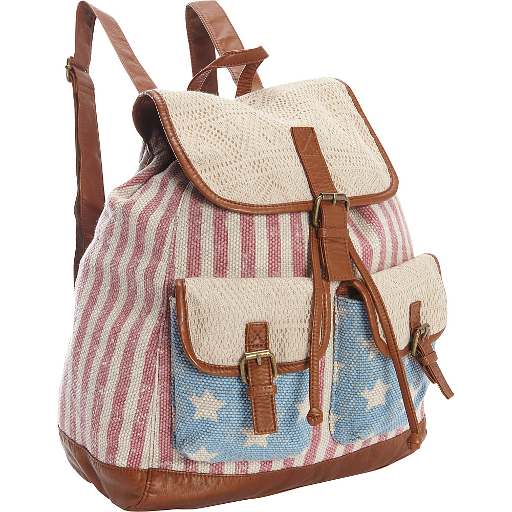T shirt Jeans Americana Backpack Multi T shirt Jeans Everyday Backpacks
