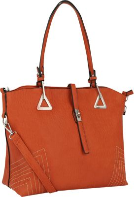 MKF Collection Dorothy Shoulder Bag Orange - MKF Collection Manmade Handbags