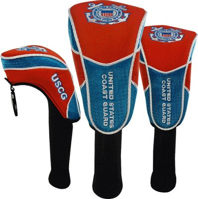 Hot-Z Golf Bags Headcover Set Coast Guard - Hot-Z Golf Bags Sports Accessories