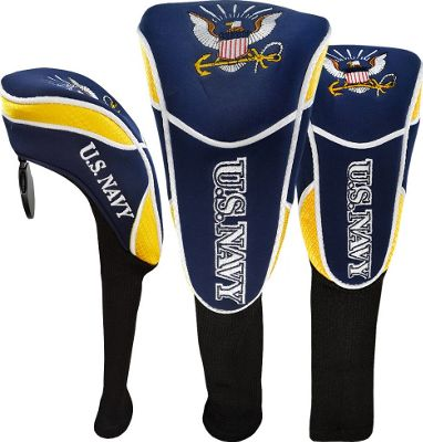 Hot-Z Golf Bags Headcover Set US Navy - Hot-Z Golf Bags Sports Accessories