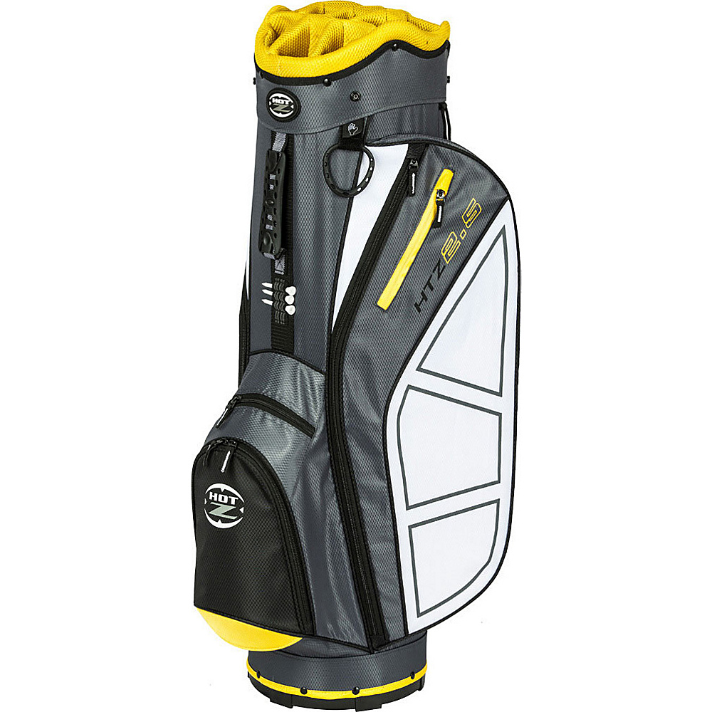 Hot Z Golf Bags 2.5 Cart Bag Yellow Hot Z Golf Bags Golf Bags