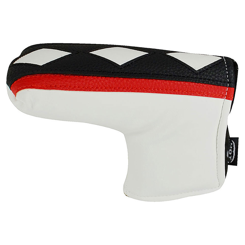 Hot Z Golf Bags L Shape Putter Cover White Red Hot Z Golf Bags Sports Accessories