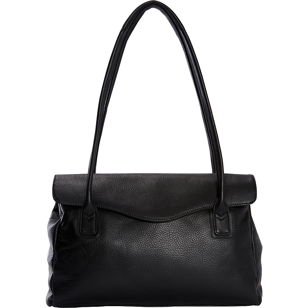 Derek Alexander Large East/West Tote Black - Derek Alexander Leather Handbags - Handbags, Leather Handbags