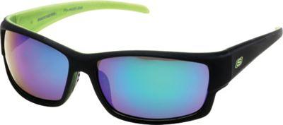 Skechers Eyewear Rimmed Sport Sunglasses Green/Black - Skechers Eyewear Sunglasses
