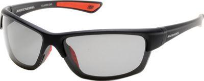 Skechers Eyewear Rimmed Sport Sunglasses Black - Skechers Eyewear Sunglasses