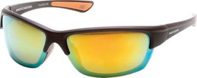 Skechers Eyewear Rimmed Sport Sunglasses Brown - Skechers Eyewear Sunglasses