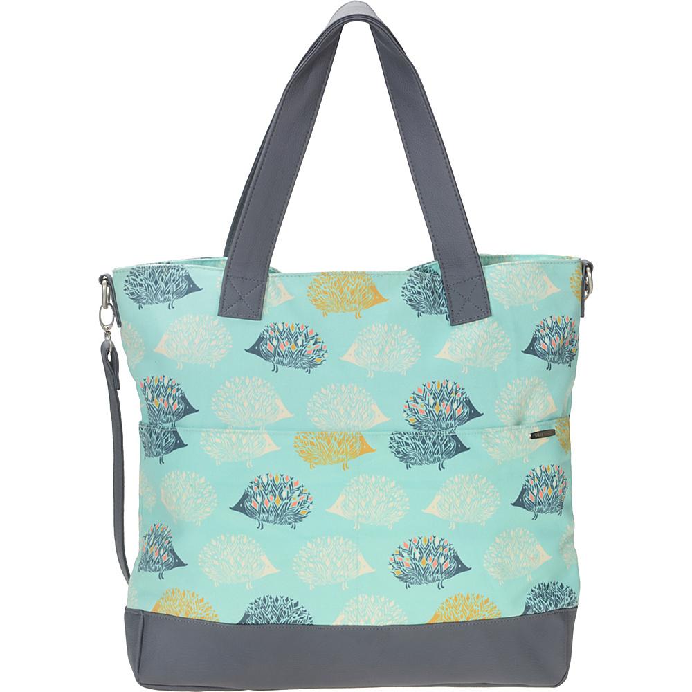 Capri Designs Sarah Watts Carryall Bag Hedgehog - Capri Designs Fabric Handbags