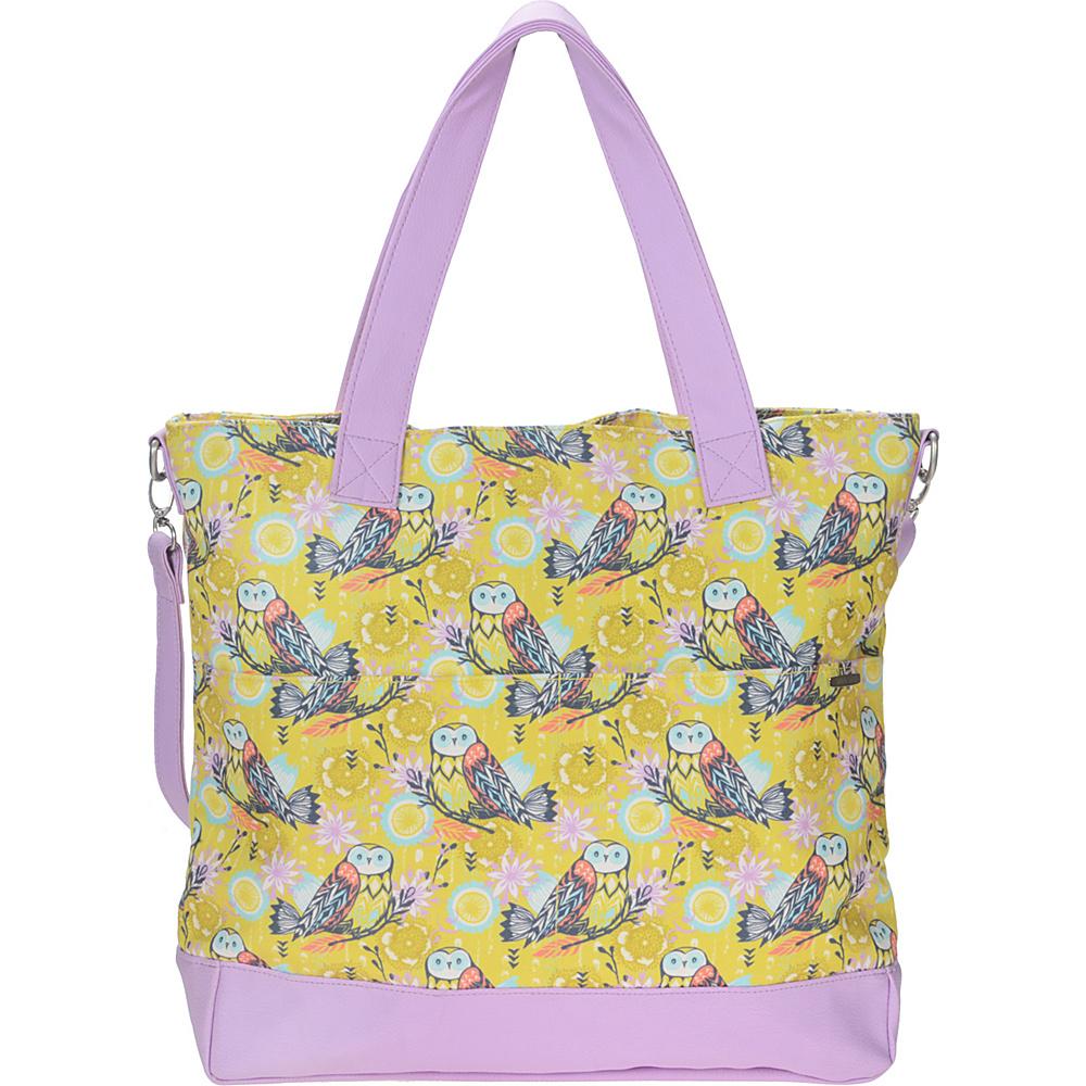 Capri Designs Sarah Watts Carryall Bag Owl - Capri Designs Fabric Handbags