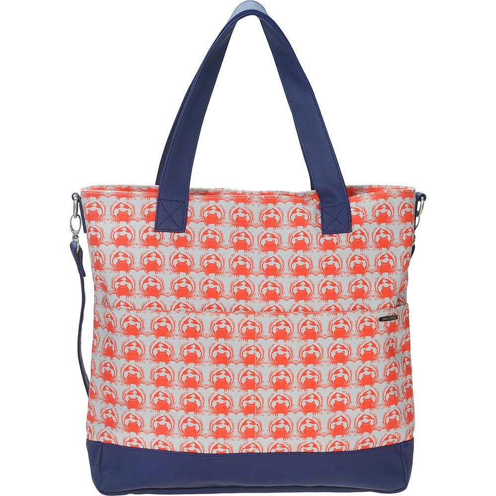 Capri Designs Sarah Watts Carryall Bag Crab - Capri Designs Fabric Handbags