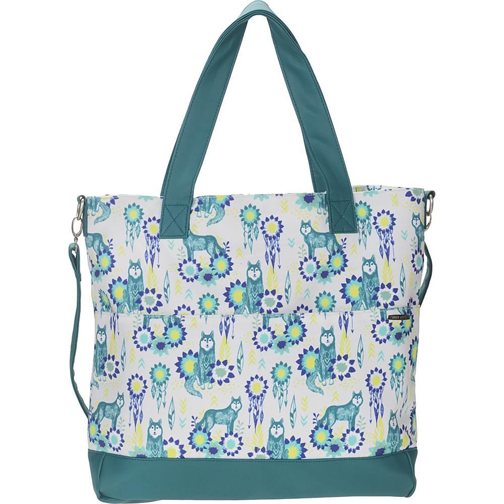 Capri Designs Sarah Watts Carryall Bag Wolf - Capri Designs Fabric Handbags