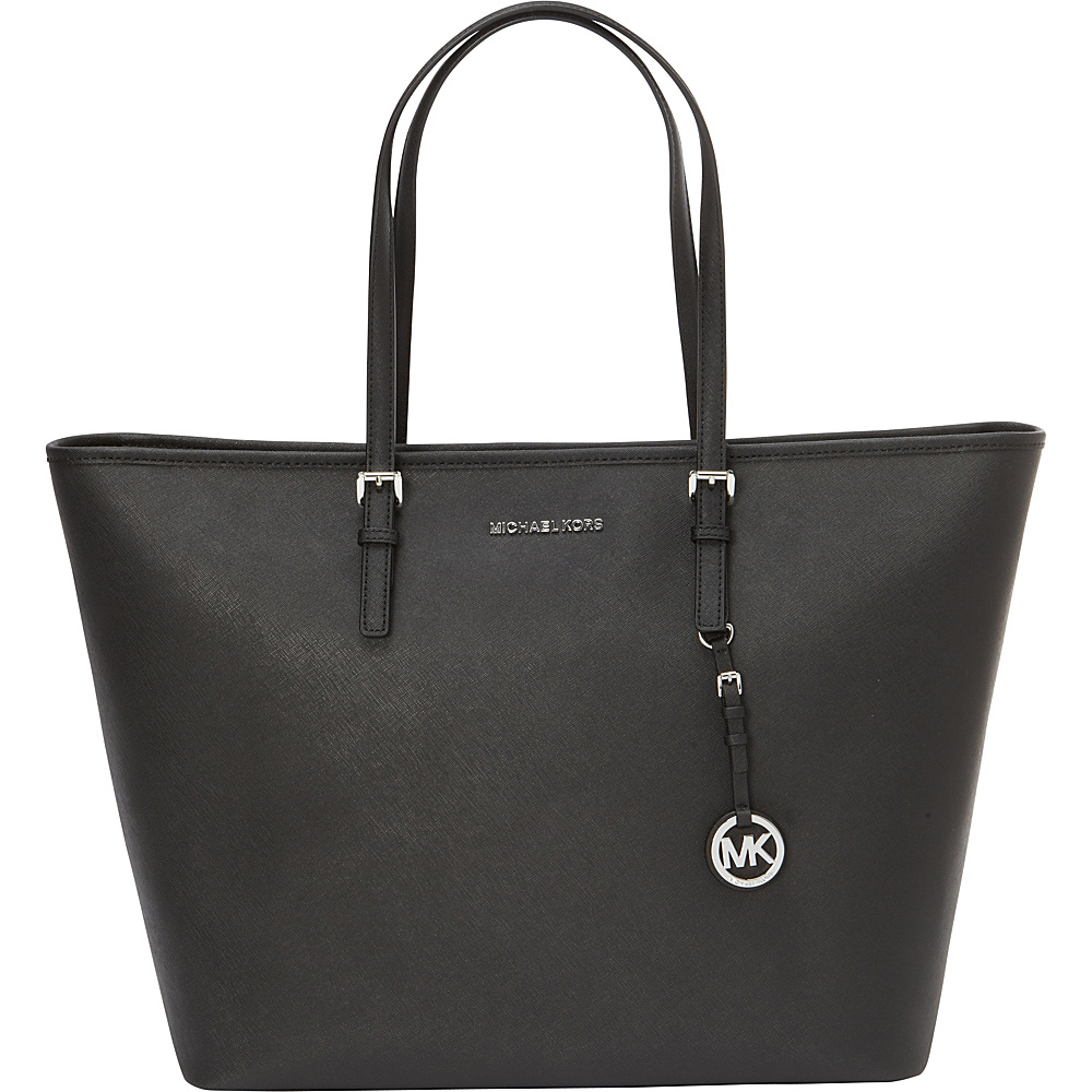 MICHAEL Michael Kors Jet Set Travel Extra Large Multifuction Tote Black - MICHAEL Michael Kors Designer Handbags