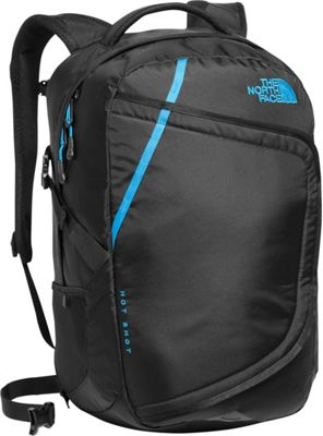 The North Face Hot Shot Laptop Backpack Tnf Black/Hyper Blue - The North Face Business & Laptop Backpacks