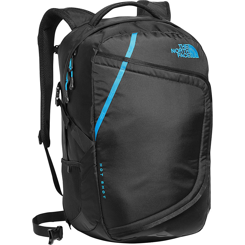 The North Face Hot Shot Laptop Backpack Tnf Black/Hyper Blue - The North Face Business & Laptop Backpacks - Backpacks, Business & Laptop Backpacks