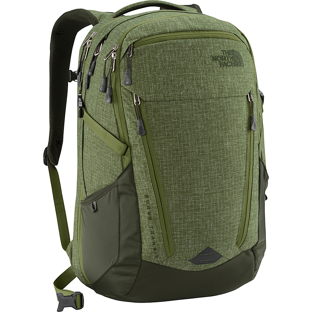 The North Face Surge Transit Laptop Backpack Terrarium Green Heather/Rosin Green - The North Face Business & Laptop Backpacks - Backpacks, Business & Laptop Backpacks
