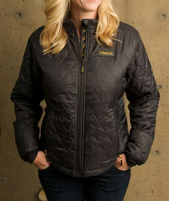 Volt Heated Clothing Womens Insulated Jacket XL - Black - Volt Heated Clothing Women's Apparel
