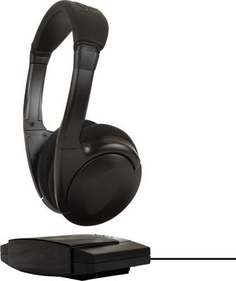 Koss Infrared Technology Wireless Headphones Black - Koss Headphones & Speakers
