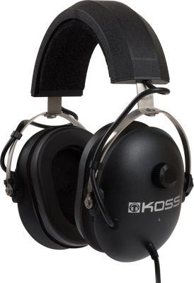 Koss QuietZone Passive Noise Reduction Stereophones Black - Koss Headphones & Speakers