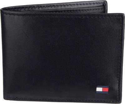 Tommy Hilfiger Accessories Dore Passcase Wallet Black - Tommy Hilfiger Accessories Men's Wallets