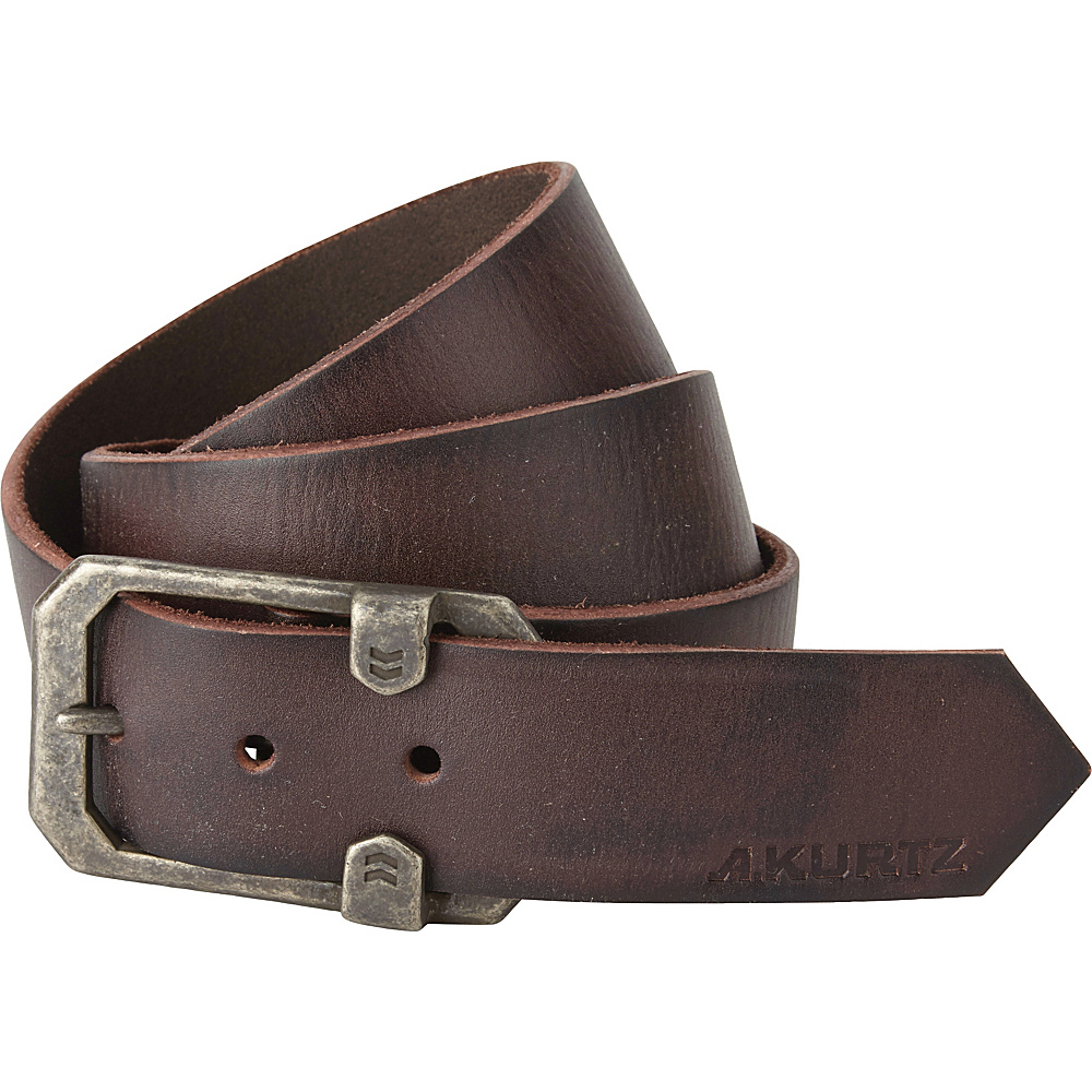 A Kurtz Tyson Leather Belt Dark Brown 42 A Kurtz Other Fashion Accessories