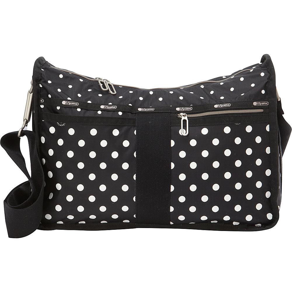 LeSportsac Everyday Bag Sun Multi Black LeSportsac Fabric Handbags