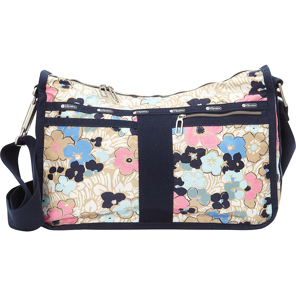 LeSportsac Everyday Bag Ocean Blooms LeSportsac Fabric Handbags