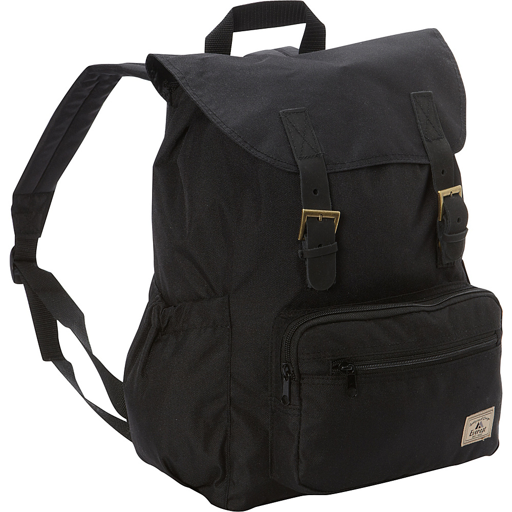 Everest Stylish Rucksack Black - Everest Everyday Backpacks - Backpacks, Everyday Backpacks