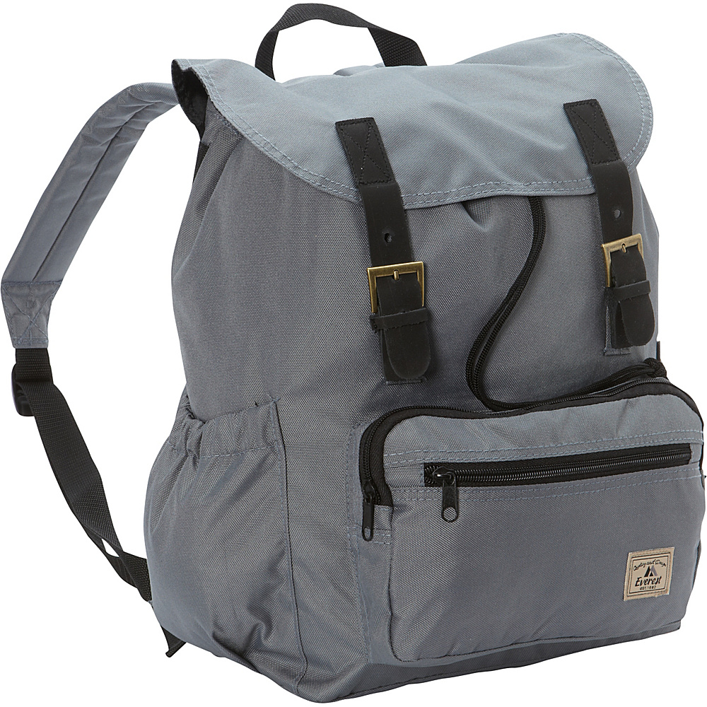 Everest Stylish Rucksack Dark Gray - Everest Everyday Backpacks - Backpacks, Everyday Backpacks