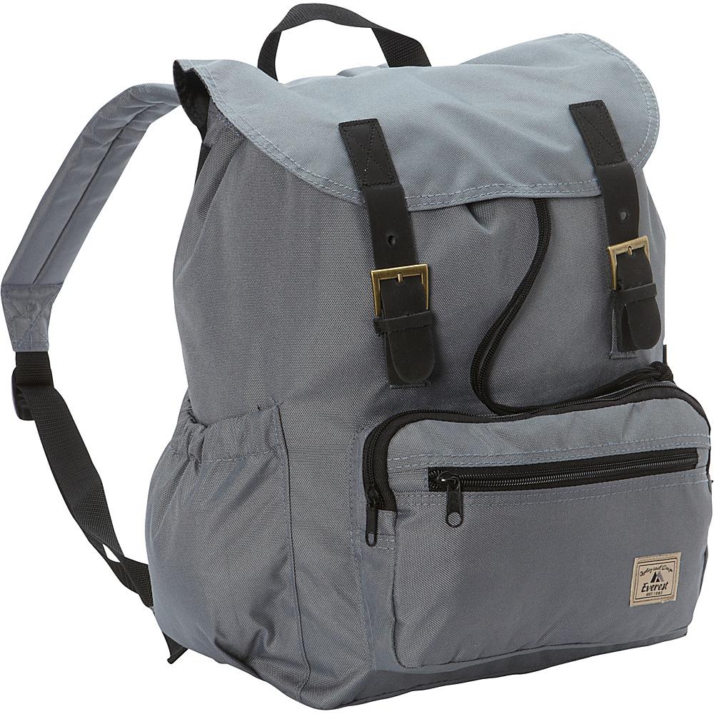 Everest Stylish Rucksack Dark Gray - Everest Everyday Backpacks - Backpacks, Everyday Backpacks