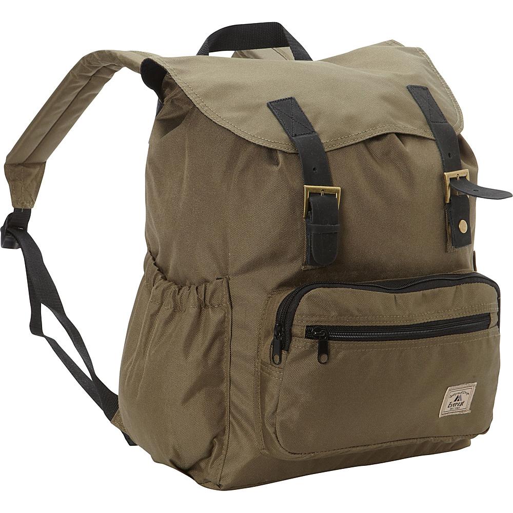 Everest Stylish Rucksack Olive - Everest Everyday Backpacks - Backpacks, Everyday Backpacks