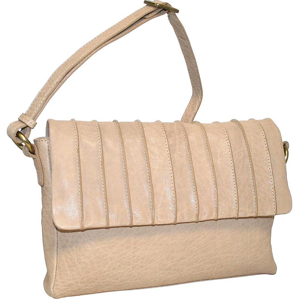 Nino Bossi Lady Jane Crossbody Peanut - Nino Bossi Leather Handbags - Handbags, Leather Handbags