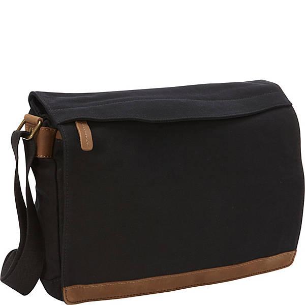 Vagabond Traveler Casual Style Canvas Messenger Bag