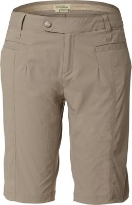 Royal Robbins Womens Discovery Bermuda Short 12 - Khaki - Royal Robbins Women's Apparel