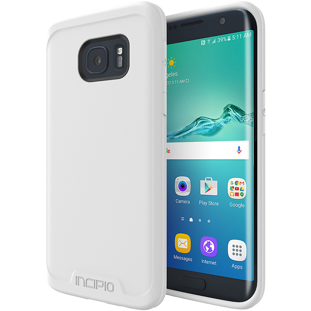 Incipio Performance Series Level 1 for Samsung Galaxy S7 Edge White - Incipio Electronic Cases