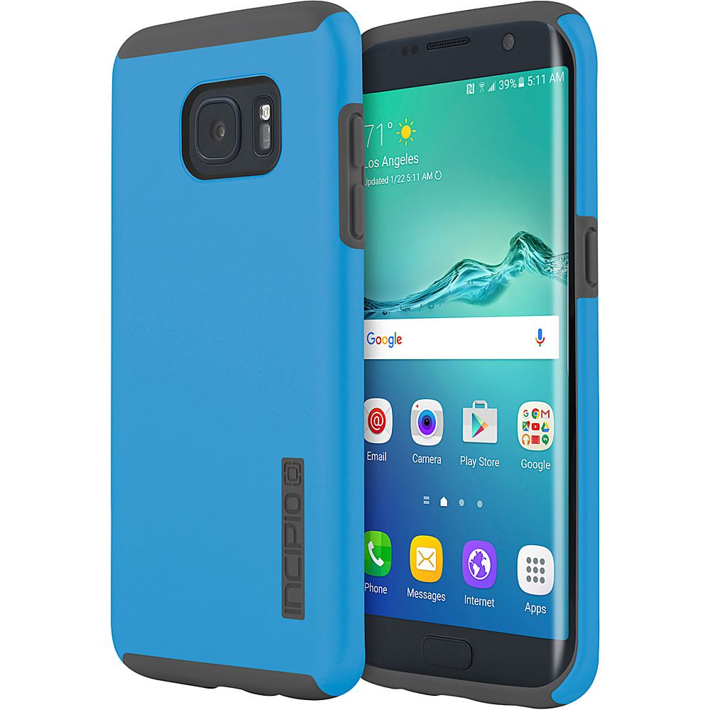 Incipio DualPro for Samsung Galaxy S7 Edge Blue/Gray - Incipio Electronic Cases - Technology, Electronic Cases