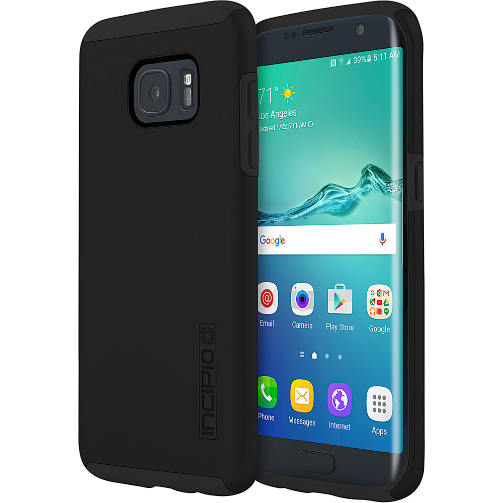 Incipio DualPro for Samsung Galaxy S7 Edge Black/Black - Incipio Electronic Cases - Technology, Electronic Cases