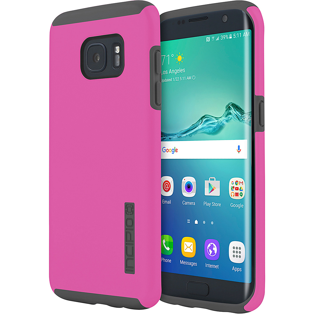 Incipio DualPro for Samsung Galaxy S7 Edge Pink/Gray - Incipio Electronic Cases - Technology, Electronic Cases